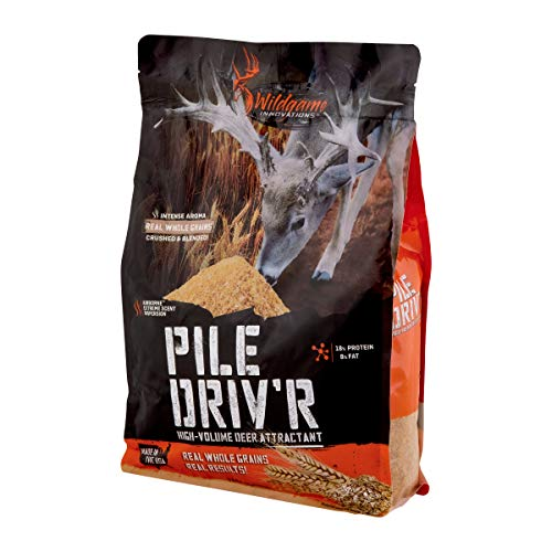 Wildgame Innovations Pile Driv'r Sweet Berry 5 Lb Bag | Late Season Deer Supplement & Attractant
