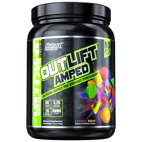 Nutrex Outlift Amped, Cosmic Blast, 560 g