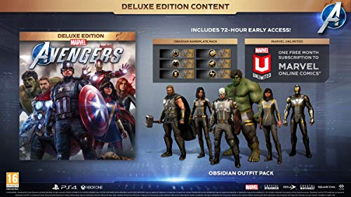Marvel's Avengers Deluxe Edition (PS4)
