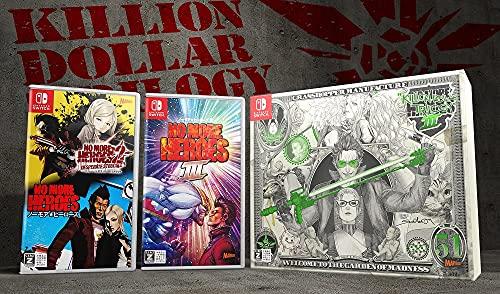 【Amazon.co.jp限定グッズセット付き】No More Heroes 3 KILLION DOLLAR TRILOGY -Switch (【Amazon.co.jp限定】オリジナルステッカー 同梱) 【Amazon.co.jp限定】「IAFK」ダウンロード番号 配信 付