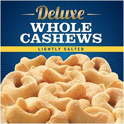 PLANTERS Deluxe Whole Cashews, 18.25 oz. Resealable Jar | Energizing Snack Roasted in Peanut Oil wit with Deluxe… 4