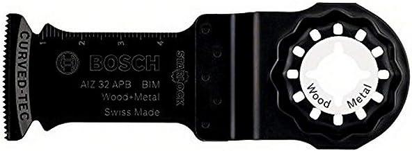 Bosch Professional Starlock - Hoja de sierra de inmersión para madera y metal, AIZ 32 APB, 50 x 32 mm