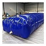 LSXIAO Recipiente De Agua Plegable, PVC Flexible Espesor De Aproximadamente 1,2 Mm con Grifo, para Riego De Jardinería, Senderismo Al Aire Libre Supervivencia De Emergencia