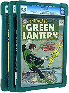 Slab-Pro 3PACK Green CGC PGX CBCS Graded Case Protector Vision Comic Books