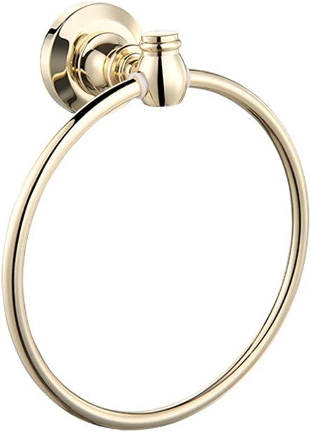 Towel Ring - Stainless Steel Towel Ring Copper Bathroom Towel Ring Vintage European Bathroom Towel Ring Towel Ring - Towel Ring HATHOR-23 2563