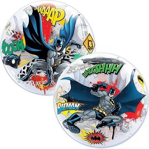 22 Inch Batman Battle Over Gotham Bubble Balloon by Qualatex