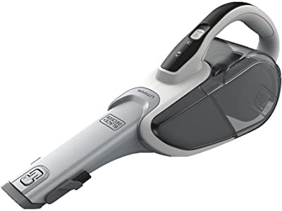 BLACK+DECKER Dustbuster Handheld Vacuum, Cordless, Powder White (HHVJ315JD10)