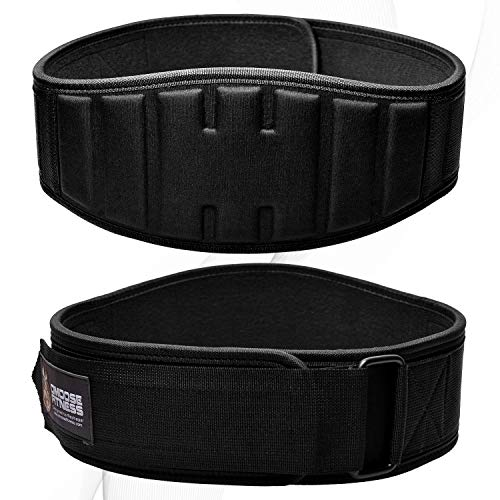 Dmoose fitness weightlifting belt for men and women, 6 inch image