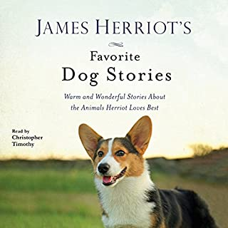 James Herriot's Favorite Dog Stories audiobook cover art