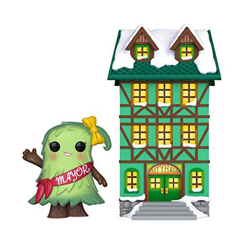 Funko POP! Town: Holiday - Town Hall w/ Mayor Patty Noble