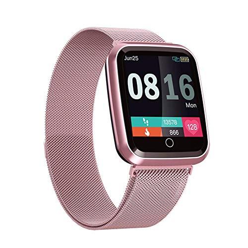 Riverry Smart Orologio Sportivo, N99 Smart Watch Impermeabile IP68 Uomo Donna Tracker Fitness Cardiofrequenzimetro Sport Smartwatch per Donna Uomo Kids Fitness Tracker