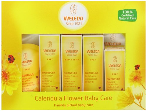 Fixbub Weleda Organic Mini Calendula Baby Starter Kit
