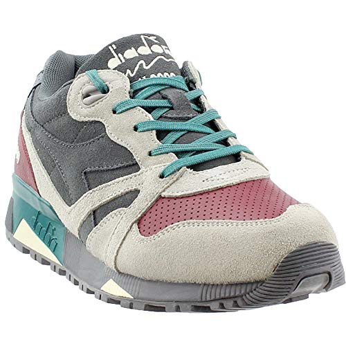 Diadora Mens N9000 USA Casual Sneakers, Grey, 10