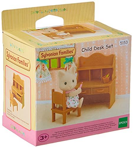 SYLVANIAN FAMILIES- Child Desk Set Mini muñecas y Accesorios, Multicolor (Epoch 5153)