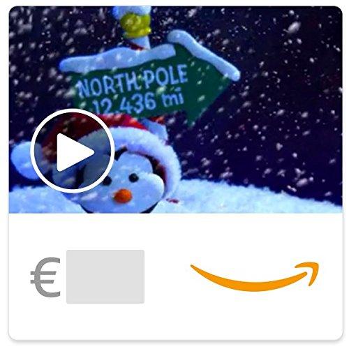 Digitaler Amazon.de Gutschein mit Animation (Pinguine) [American Greetings]
