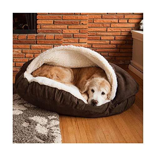 ZQY Hondenbed Rond behandelbaar Nested Huisdier-Nest-Graben Deken Huisdier-Bed met afneembare beschermhoes voor honden en katten