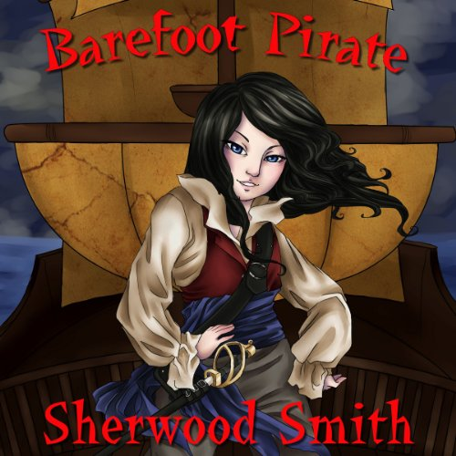 Barefoot Pirate audiobook cover art