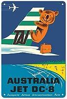 オーストラリアタイ 金属板ブリキ看板警告サイン注意サイン表示パネル情報サイン金属安全サイン