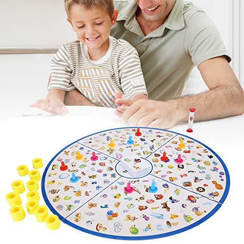 Bordspel speelgoed, kleurrijke bordspel speelgoed met kaarten voor Kid kind leren Intelligent speelgoed Kids Preschool educatieve, muzikale speelgoed Set