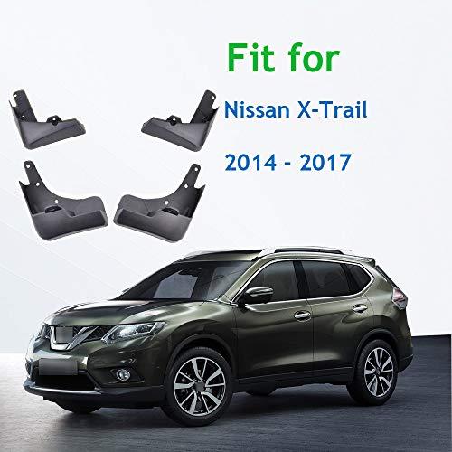 unknow , Für Nissan X-Trail Rouge T32 Set Geformte Auto Schmutzfänger 2014 2015 2016 2017, Für...