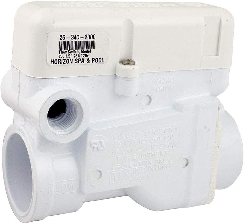 Grid Controls Flow Switch, M25, 25A, 115V, 11 2 Slip