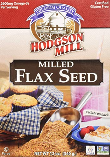 Hodgson Mill, Flax Seed Milled Gf, 12 OZ