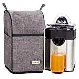 HOMEST Dust Cover for Cuisinart Pulp Control Citrus Juicer, CCJ-500, Grey