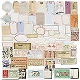 180pcs Pegatinas Adhesivas Material Scrapbooking Escrito Vintage Papel Decorativo Etiquetas Stickers Bullet Journal...