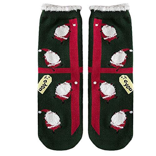 HEVÜY Weihnachtssocken, Nussknacker, für Erwachsene, Baumwolle, klassisch, kurz, für Yoga, Wandern, Radfahren, Laufen, Fußball, Sport