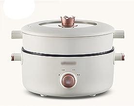 Rijstkoker (3L) Huishoudelijke Slaapzaal Multifunctionele All-in-One Rijstkoker/Koekenpan/Wok, Niet-Stick Inner Soep Pot, ...