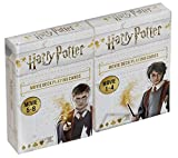 Cartamundi 108174901 Harry Potter - Tarjeta de felicitación (formato doble 1-8), diseño de Harry Potter , color/modelo surtido