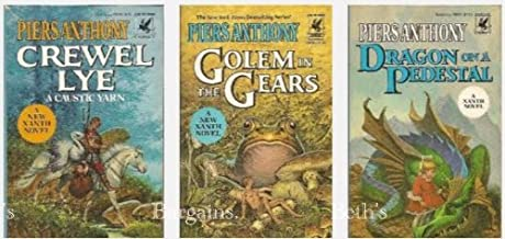 Spellbound Xanth: Dragon on a Pedestal, Crewel Lye, Golem in the Gears