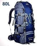 MYMM 80L Sacs de Trekking,Sac à Dos de,idéal pour Le Sport de Plein...