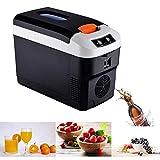 10 Liter Kühlschrank, Weinkühlschrank mit Temperaturregelung 12 & 220 Volt, kühlt...