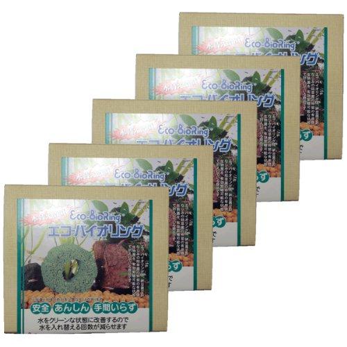 ビッグ・バイオ エコ・バイオリング 納豆菌ブロック 緑 5箱セット