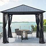 AsterOutdoor 10x10 Outdoor Hardtop Gazebo for...