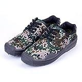Seguro De Trabajo Zapatos De Liberación Estudiantes Masculinos Zapatos De Entrenamiento Militar Antideslizantes Resistentes Al Desgaste Zapatos De Trabajo Para Obras De Construcción Zapatos De Goma De