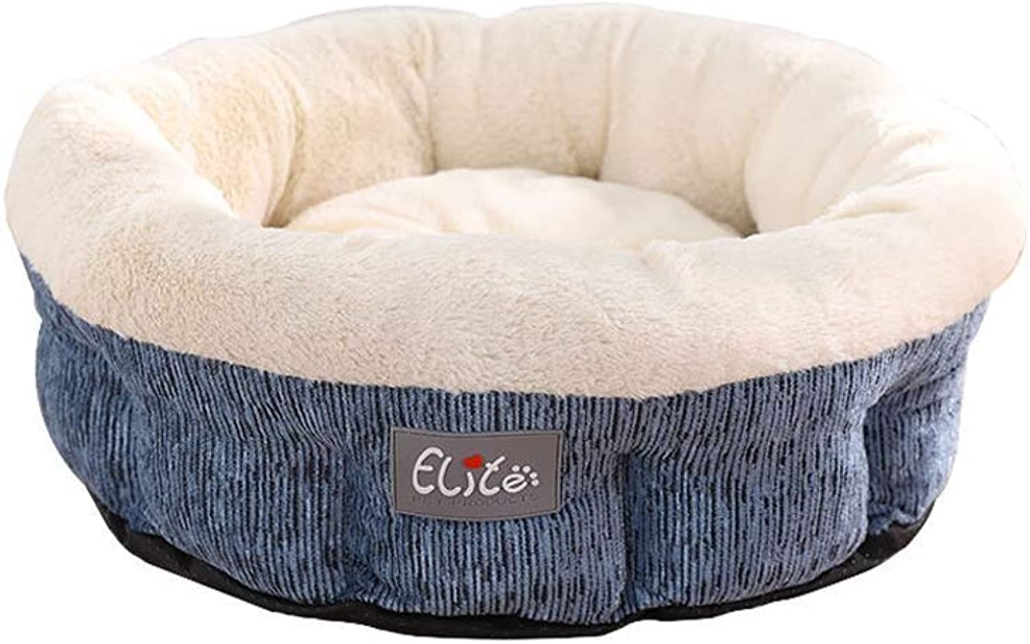 Cat Nest Pet Puppy Bed Sleeping Super Soft Thickening Warm Luxury Kitten Dog Cozy Mat Cushion, Small And Medium Pet Supplies(bluee  M, L) (Size   L)