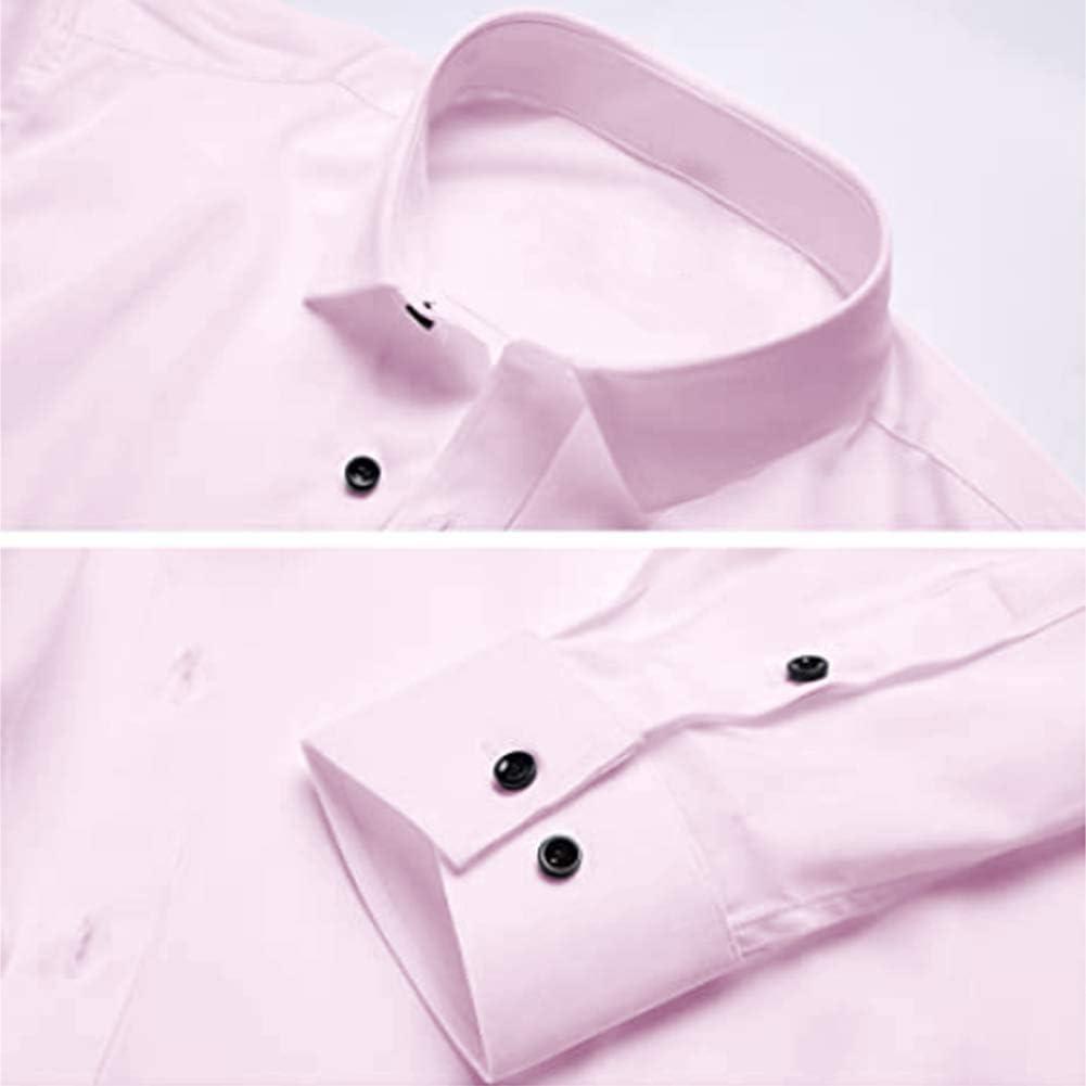 Xingsiyue Camisa de Vestir Formal para Hombre - Manga Larga ...