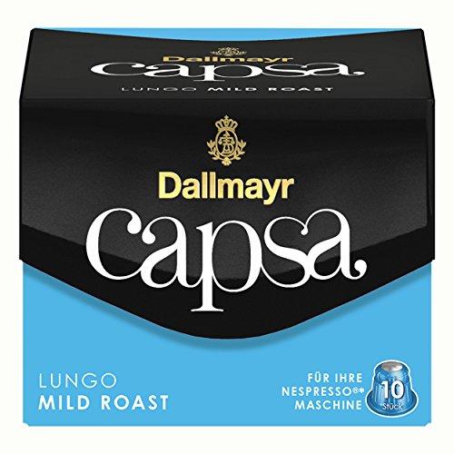 Dallmayr Capsa Lungo Mild Roast, 10 Stück/56 g