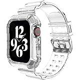 コンパチブル Apple Watch バンド 44mm 42mm 40mm 38mm 耐衝撃 上質なTPU 保護カバー エッジ保護 コンパチブル アップルウォッチ バンド コンパチブル iWatch Series 6/SE/5/4/3/2/1