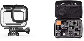 GoPro Schutzgehäuse für HERO8 Black (Offizielles GoPro Zubehör) & Amazon Basics Tragetasche für GoPro Actionkameras, Gr. L