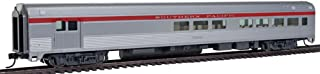 85' Budd Baggage-Lounge - Ready to Run -- Southern Pacific (silver, red)