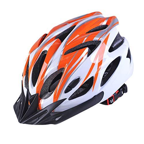 YOUCAI Integrado Andar en Bicicleta al Aire Libre Ajustable Cascos de Bicicleta...