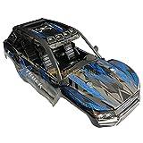 Eddwiin para RC Car Shell Modelo de Control Remoto Car Body Shell para XLH 9137 RC Truck Anti-Impacto Accesorio Duradero ( Color : Blue Set )