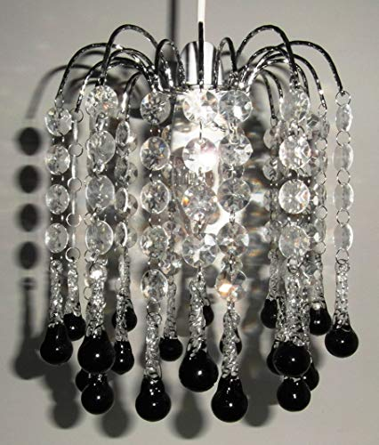 Lighting Web Co Lustre Transparent/noir