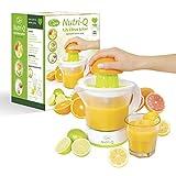 Nutri-Q 34210 Electric Quick Press Citrus Jug Juicer, Plastic, 40 W, 1.2 liters