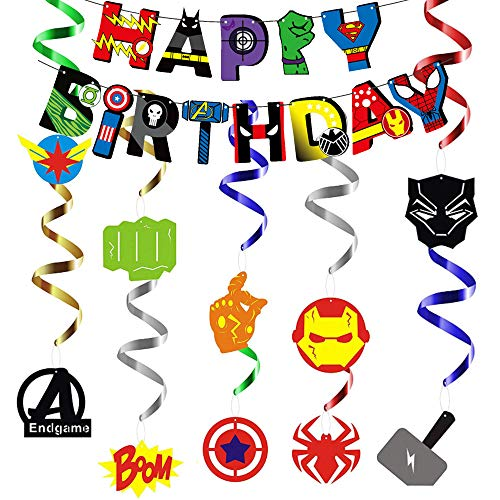 Decoracion Cumpleaños Superheroes de...