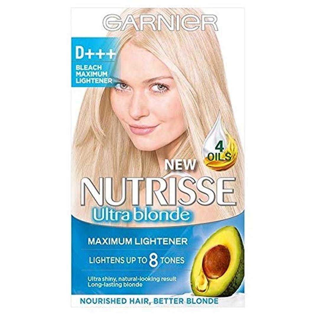 反逆者作家船上[Garnier ] ガルニエNutrisse D +++漂白ライトナーパーマネントヘアダイ - Garnier Nutrisse D+++ Bleach Lightener Permanent Hair Dye [並行輸入品]