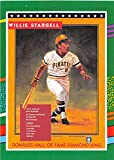 1991 Donruss (INC. With Period/Leaf Preview Set Version) Baseball #702 Willie Stargell Pittsburgh Pirates Puzzle Official MLB Trading Card From The Leaf Company